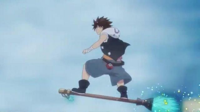 Blue Shorts of Seth in Radiant (version anime 2018) - TV Show Outfits and Products