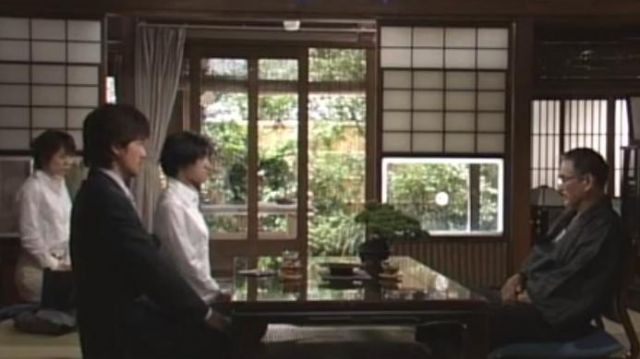 Bonsai Tree of Ittetsu Kotani (Sonny Chiba) in Shotgun Marriage (S01E02) - TV Show Outfits and Products