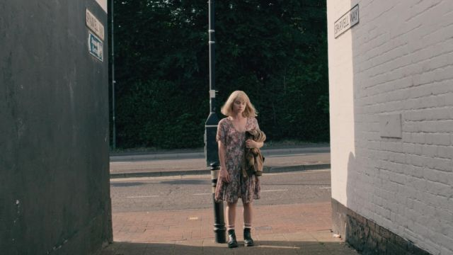 Fashion Trends 2021: Boots of Alyssa (Jessica Barden) seen in The End of the F***ing World Season 1 Episode 5