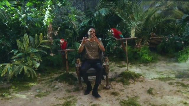 Boots of Big Sean in the clip Feels Calvin Harris ft. Pharrell Williams and Katy Perry - Youtube Outfits and Products