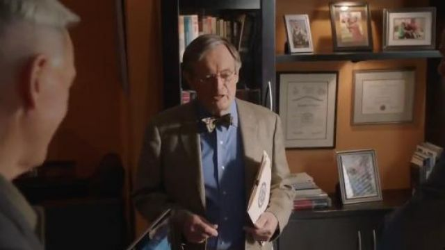 Bow Tie Club Jasper Bow Tie outfit worn by Donald Mallard (David McCallum) in NCIS (S16E24) - TV Show Outfits and Products