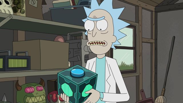 Box Mr. Meeseeks from Rick Sanchez in Rick and Morty - TV Show Outfits and Products