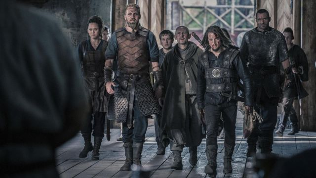 Bracers viking Ragnar the Young (Tobias Santelmann) seen in The Last Kingdom Season 2 Episode 4 - TV Show Outfits and Products