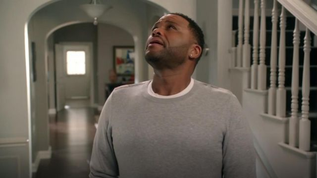 Burberry Brit Richmond Cotton & Cashmere Sweater outfit worn by Andre 'Dre' Johnson (Anthony Anderson) in black-ish (S03E01) - TV Show Outfits and Products