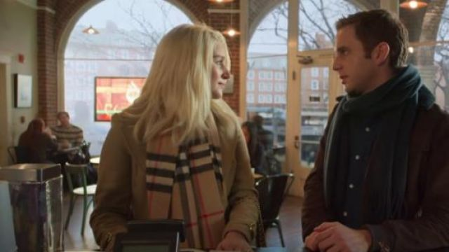 Burberry Camel Classic Check Cashmere Scarf outfit worn by Alice (Julia Schlaepfer) in The Politician Season 1 Episode 8 - TV Show Outfits and Products