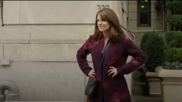 Calvin klein Cardigan Sweater outfit worn by Sarah (Tina Fey) in Modern Love Season 01 Episode 04 - TV Show Outfits and Products