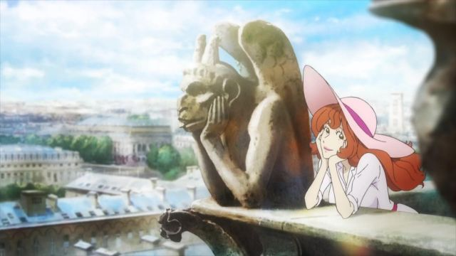 Cathédrale Notre-Dame de Paris visited by Fujiko Mine in Lupin the Third (S05) - TV Show Outfits and Products
