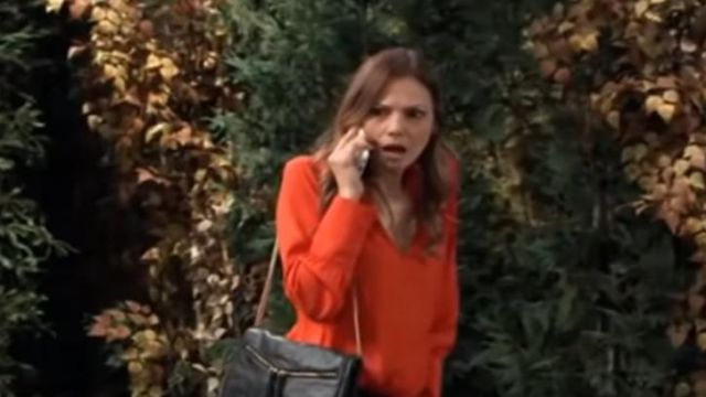 Chelsea28 Smocked Neck top outfit worn by Kim Nero (Tamara Braun) on General Hospital October 1, 2019 - TV Show Outfits and Products
