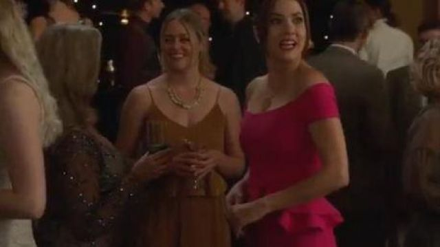Chiara Boni La Petite Robe Asymmetric Dress outfit worn by Andrea Rojas (Julie Gonzalo) in Supergirl Season 05 Episode 06 - TV Show Outfits and Products
