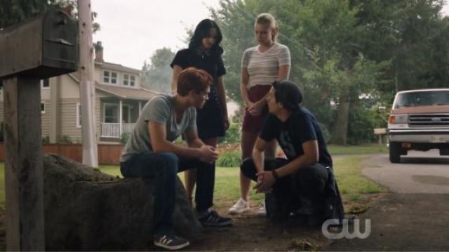 Coaster Liberty Sneakers outfit worn by Betty Cooper (Lili Reinhart) in Riverdale Season 4 Episode 1 - TV Show Outfits and Products