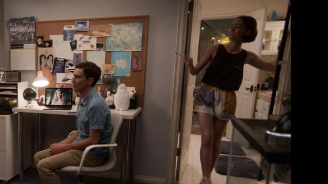 Colorful retro shorts outfit worn by Casey Gardner (Brigette Lundy-Paine) in Atypical (S03E03) - TV Show Outfits and Products