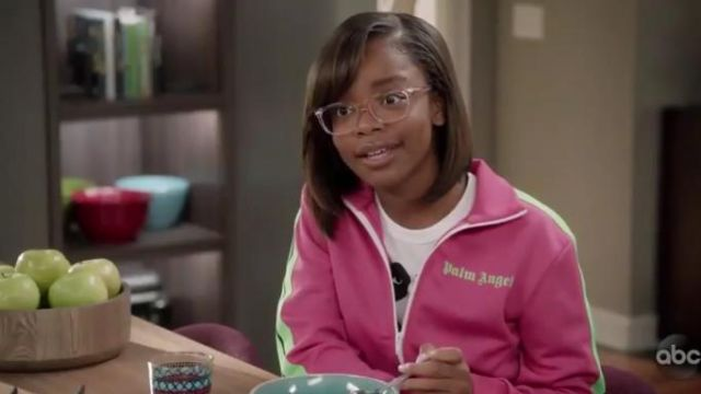 Comme des Garçons Play Logo Tee outfit worn by Diane Johnson (Marsai Martin) in black-ish Season 6 Episode 7 - TV Show Outfits and Products