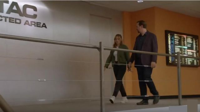 Converse Chuck Taylor® High Top Sneaker outfit worn by Ellie Bishop (Emily Wickersham) in NCIS Season17 Episode03 - TV Show Outfits and Products