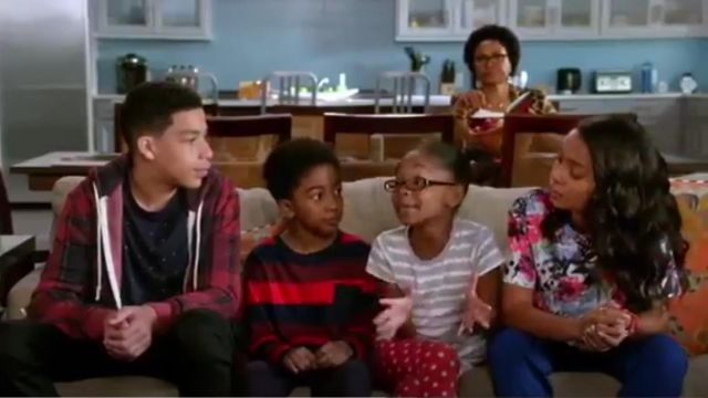 Cooper & Ella Elizabeth Floral Top outfit worn by Zoey Johnson (Yara Shahidi) in black-ish (S01E24) - TV Show Outfits and Products