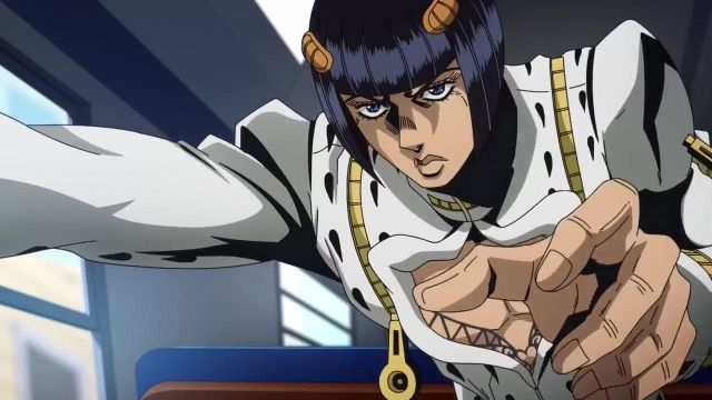 Costume version cosplay by Bruno Bucciariti in Jojo's Bizarre Adventure Season 4 Episode 2 - TV Show Outfits and Products