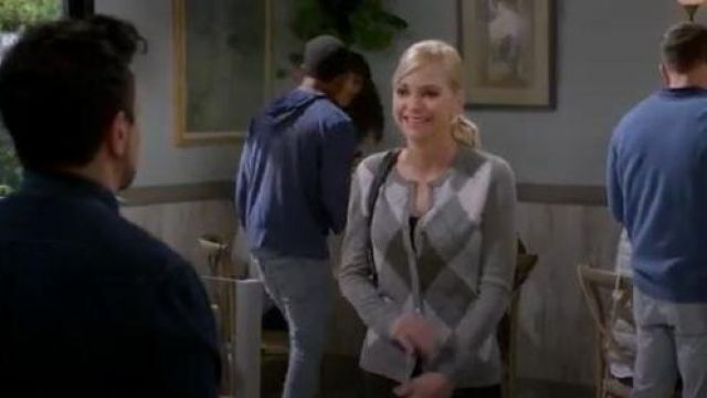 Croft & Barrow Cardigan outfit worn by Christy (Anna Faris) in Mom Season 07 Episode 06 - TV Show Outfits and Products
