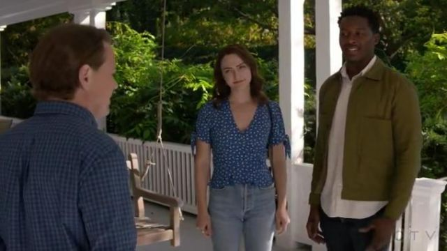 Danse Lente Mia Accordion Bag outfit worn by Cara Bloom (Violett Beane) in God Friended Me Season 2 Episode 8 - TV Show Outfits and Products