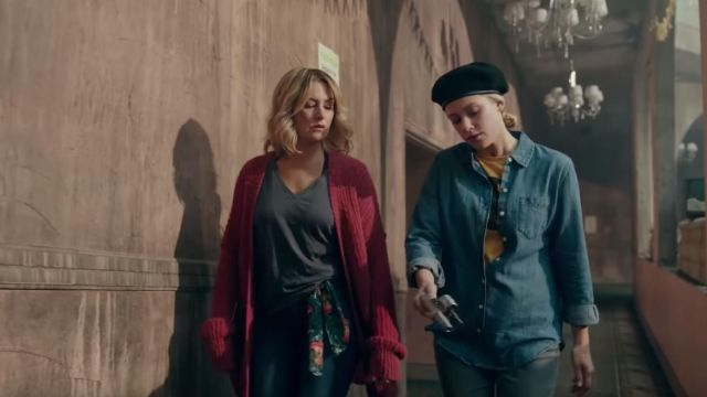 Denim long sleeve shirt outfit worn by Betty Cooper (Lili Reinhart) in Riverdale Season 4 - TV Show Outfits and Products
