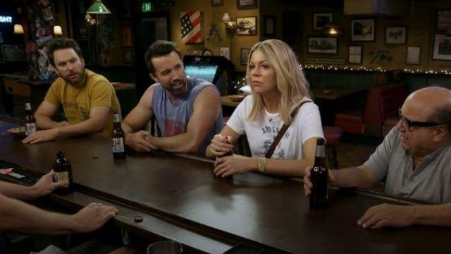 Dhgate Apollo 11 T Shirt outfit worn by in It's Always Sunny in Philadelphia Season 14 Episode 07 Dee Reynolds (Kaitlin Olson) It's Always Sunny in Philadelphia (S14E07) - TV Show Outfits and Products