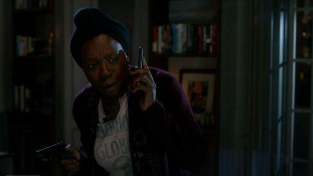 Dior Sisterhood is Global Tee outfit worn by Annalise Keating (Viola Davis) in How to Get Away with Murder Season 06 Episode 07 - TV Show Outfits and Products