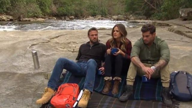 Dirty Laundry Razorbill Boots outfit worn by JoJo Fletcher in The Bachelorette (S12E04) - TV Show Outfits and Products