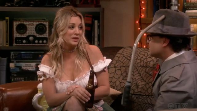 Disguise outfit worn by Penny (Kaley Cuoco) seen in The Big Bang Theory S12 Episode 6 - TV Show Outfits and Products