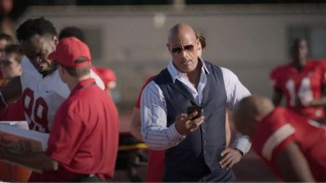 Dita Mach Six dark brown/black aviator sunglasses outfit worn by Spencer Strasmore (Dwayne Johnson) in Ballers Season 05 Episode 07 - TV Show Outfits and Products