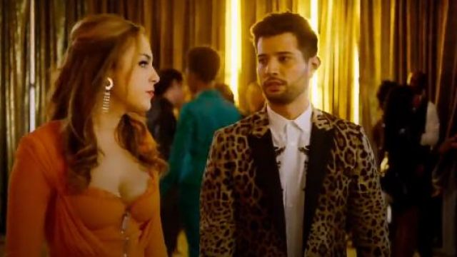 Dolce & Gabbana Leoprad Print Blazer outfit seen on Sam Jones (Rafael de la Fuente) in Dynasty (S01E19) - TV Show Outfits and Products