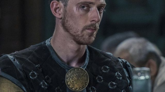 Doublet of Aldhelm (James Northcote) seen in The Last Kingdom Season 2 Episode 3 - TV Show Outfits and Products