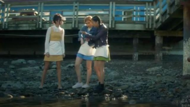 Dr Martens Black 1460 Boots outfit worn by George Fan (Leah Lewis) in Nancy Drew Season 1 Episode 1 - TV Show Outfits and Products