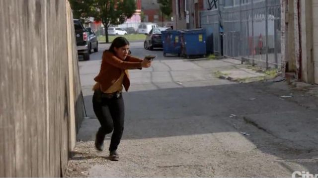 Dr. Marten 1460 Boots outfit worn by (Vanessa Rojas) in Chicago P.D. Season 7 Episode 3 - TV Show Outfits and Products