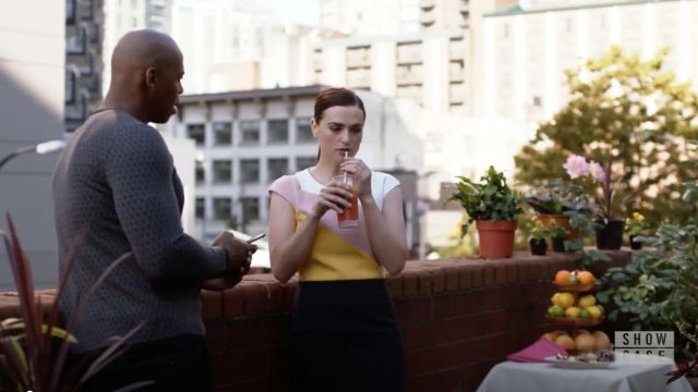Dress Boss outfit worn by Lena Luthor (Katie McGrath) seen in Supergirl Season 4 Episode 5 - TV Show Outfits and Products