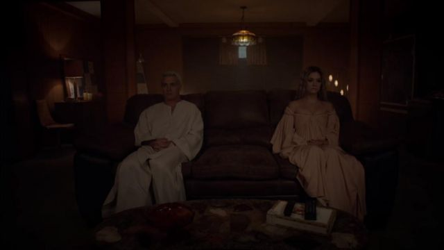 Dress outfit worn by Winter Anderson (Billie Heavy) seen in American Horror Story Season 7 Episode 8 - TV Show Outfits and Products