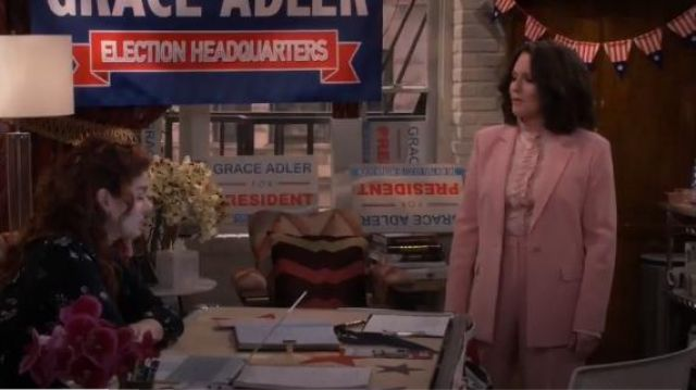 Elizabeth and James Carson Blazer outfit worn by Karen Walker (Megan Mullally) in Will & Grace (S02E13) - TV Show Outfits and Products