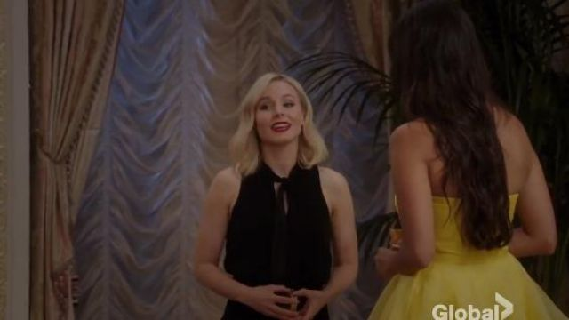 Elizabeth and James Enya Dress outfit worn by Eleanor Shellstrop (Kristen Bell) in The Good Place (S01E11)