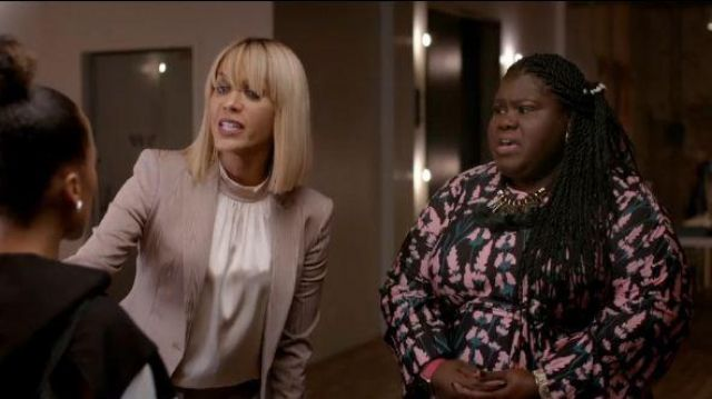 Eloquii Tie Front Easy Dress outfit worn by Becky (Gabourey Sidibe) in Empire Season 06 Episode 06 - TV Show Outfits and Products