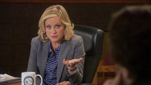 Equipement 'Signature' Silk Shirt outfit worn by Leslie Knope (Amy Poehler) in Parks and Recreation (S06E06) - TV Show Outfits and Products