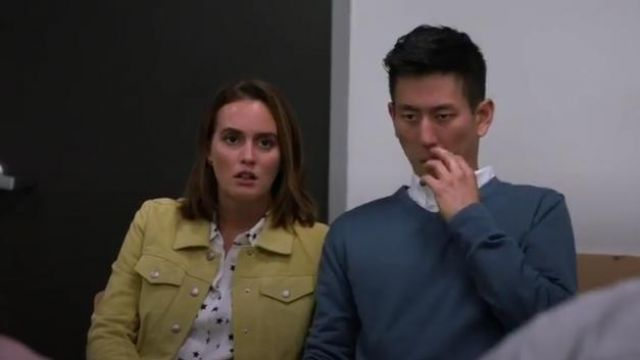 Equipement Starry Night Slim Signature Shirt outfit worn by Angie D'Amato (Leighton Meester) in Single Parents Season 2 Episode 2 - TV Show Outfits and Products