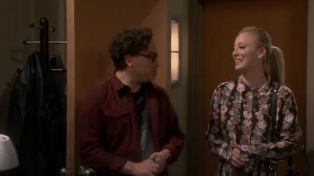 Equipment Daphne Silk Shirtdress outfit seen on Penny (Kaley Cuoco) in The Big Bang Theory (S12E18) - TV Show Outfits and Products