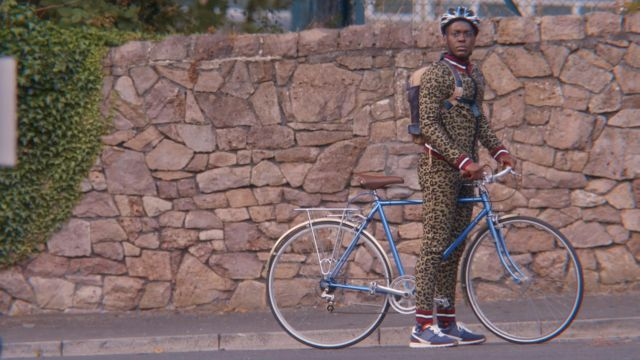 Fashion Trends 2021: Eric's (Ncuti Gatwa) leopard two-piece by ASOS as seen in Sex Education S01E08