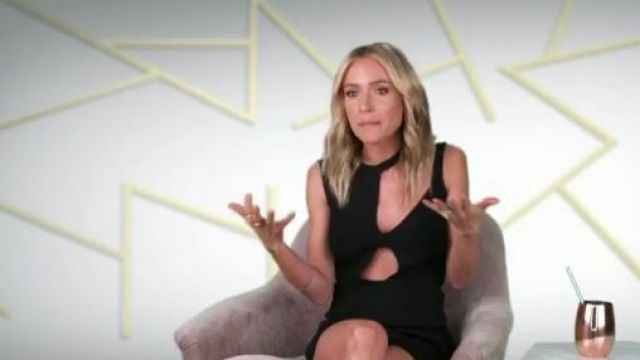Esteban Cortazar Cutout Mini Dress outfit seen on Herself (2018) (Kristin Cavallari) in Very Cavallari (S02E06)