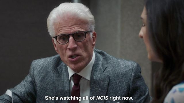 Eyeglasses Michael (Ted Danson) seen in The Good Place Season 3 Episode 1 - TV Show Outfits and Products
