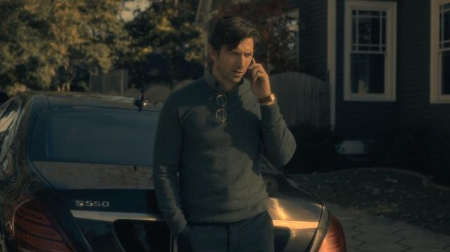 Eyeglasses Steven Crain (Michiel Huisman) seen in The Haunting of Hill House Season 1 Episode 1 - TV Show Outfits and Products