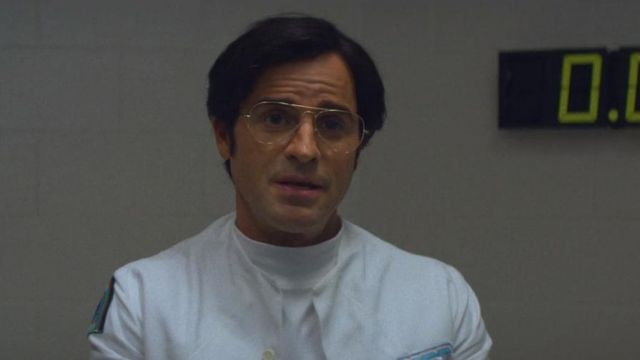 Eyeglasses aviator Dr. James K. Mantleray (Justin Theroux) seen in Maniac (Season 1 Episode 5) - TV Show Outfits and Products