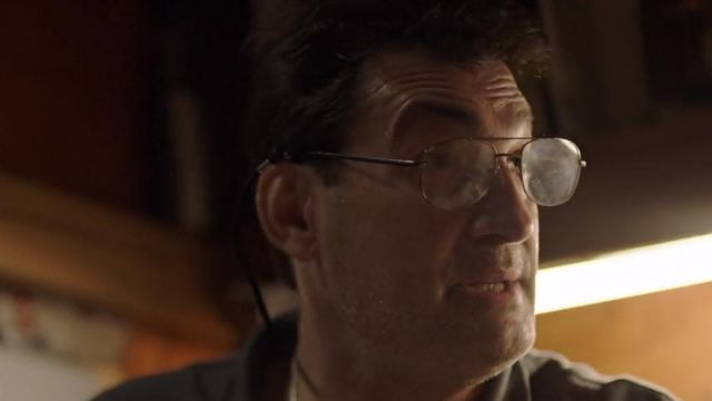 Eyeglasses aviator Ron Tannetti (Robert Funaro) seen in The Sinner (Season 1 Episode 1) - TV Show Outfits and Products