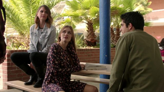 Fashion Trends 2021: Floral dress Lush Lydia Martin (Holland Roden) seen in Teen Wolf Season 6 Episode 1