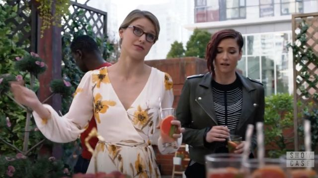 Floral dress Wilfred scope by Kara Danvers (Melissa Benoist) seen in Supergirl Season 4 Episode 5 - TV Show Outfits and Products