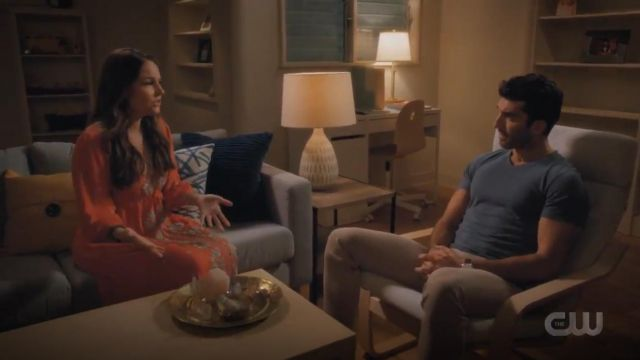Free People Embroidered Fable Midi Dress outfit worn by Dr. Luisa Alver (Yara Martinez) in Jane the Virgin (S05E09) - TV Show Outfits and Products