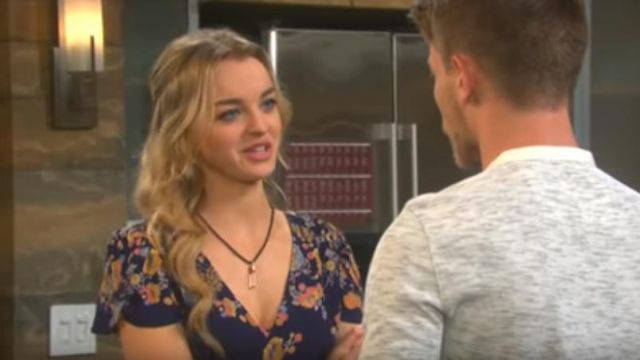 Free People Gorgeous Jess Dress outfit worn by Claire Brady (Olivia Rose Keegan) as seen in Days of Our Lives March 13, 2019 - TV Show Outfits and Products