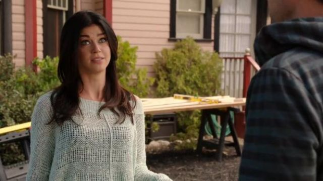 Free People These Days Fine Gauge Sweater outfit worn by Dr. Samantha Lake (Adrianne Palicki) in About a Boy (S01E12) - TV Show Outfits and Products